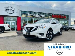 Used 2017 Nissan Murano SL AWD for sale in Stratford, ON