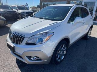 Used 2016 Buick Encore LEATHER NAVIGATION BCAMERA for sale in Calgary, AB