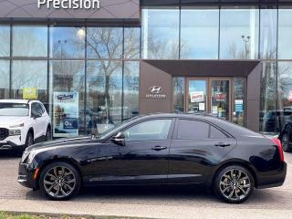 Used 2017 Cadillac ATS Sedan CARBON PACK w/ AWD / NAVI / LOW KMS for sale in Calgary, AB