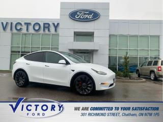 Used 2021 Tesla Model Y Performance | AUTOPILOT | NAV | GLASS ROOF for sale in Chatham, ON