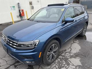 Used 2018 Volkswagen Tiguan Highline 2.0T 8sp at w/Tip 4M for sale in Ottawa, ON