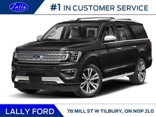 New 2021 Ford Expedition Max Platinum for sale in Tilbury, ON