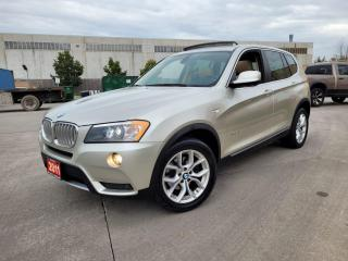 Used 2011 BMW X3 AWD, Navi., 360 Camera, Low KM, Warranty available for sale in Toronto, ON