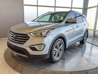 Used 2016 Hyundai Santa Fe XL Limited | AWD | 3rd Row | H&C Leather | Pano Roof for sale in Edmonton, AB