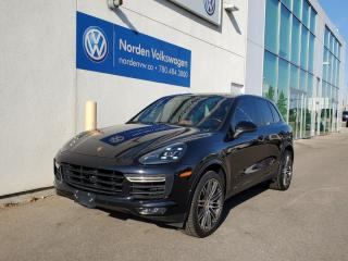 Used 2016 Porsche Cayenne TURBO| SPORT PACKAGE | PREMIUM PLUS | SPORT EXHAUST | FULL LEATHER| $154K BUILD! for sale in Edmonton, AB