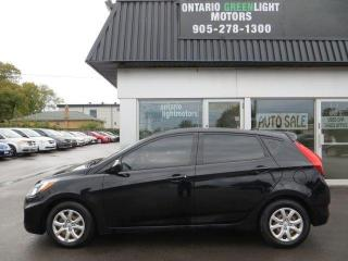 Used 2013 Hyundai Accent GL, AUTOMATIC, CERTIFIED, HEATED SEATS, A/C, ALL P for sale in Mississauga, ON