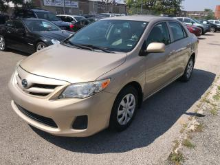 Used 2012 Toyota Corolla AUTO,P/WINDOWS,PSB,AUX,$7990,SAFETY $490 for sale in Toronto, ON