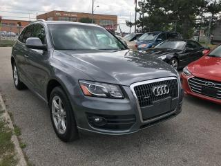 Used 2012 Audi Q5 2L T,127KM,NO ACCIDENT,QUATTRO,PREM PLUS,PAN,2KEYS for sale in Toronto, ON