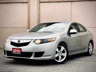 Used 2010 Acura TSX AUTO SUNROOF ALLOY CERTIFIED $7999 for sale in Brampton, ON