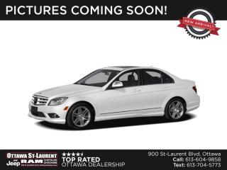 Used 2010 Mercedes-Benz C-Class for sale in Ottawa, ON
