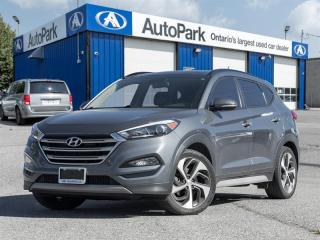 Used 2017 Hyundai Tucson AWD 1.6T Limited BACKUP CAM|PANO ROOF|HEATED SEATS|LEATHER|AWD for sale in Georgetown, ON