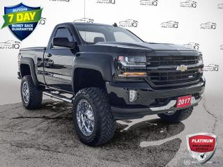 Used 2017 Chevrolet Silverado 1500 LT Lift Kit/Low KM's/Over Sized Tires for sale in St Thomas, ON