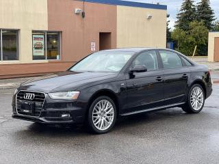 Used 2015 Audi A4 S-Line AWD LEATHER/SUNROOF for sale in North York, ON