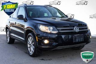 Used 2017 Volkswagen Tiguan Wolfsburg Edition AWD LEATHER INTERIOR for sale in Innisfil, ON