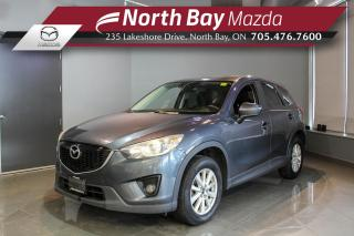 Used 2013 Mazda CX-5 GS Certified! - Sunroof - Heated Seats - Bluetooth for sale in North Bay, ON