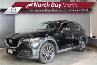 Used 2018 Mazda CX-5 GT Sunroof - Leather - Nav - Heated Seats for sale in North Bay, ON
