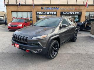 Used 2015 Jeep Cherokee Trailhawk for sale in North York, ON