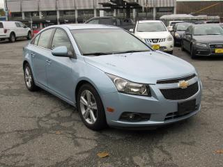 Used 2012 Chevrolet Cruze LTZ Turbo w/1SA for sale in Vancouver, BC