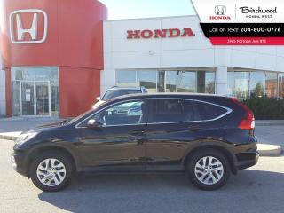 Used 2015 Honda CR-V EX Heated Seats - Bluetooth - Back-Up Cam - Sunroof for sale in Winnipeg, MB