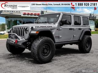 Used 2018 Jeep Wrangler Unlimited Rubicon for sale in Cornwall, ON