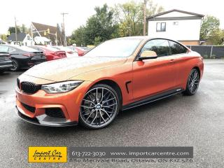 Used 2018 BMW 4 Series 440 i xDrive RARE M-PERFORMANCE EDITION  CARBON FIBRE for sale in Ottawa, ON