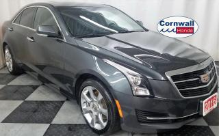 Used 2016 Cadillac ATS 2.0L T - Clean Vehicle, Fuel Efficient AWD for sale in Cornwall, ON