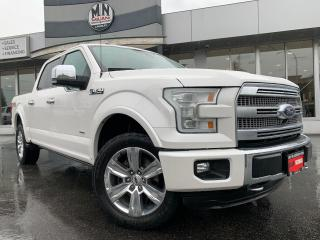 Used 2015 Ford F-150 PLATINUM 4WD ECOBOOST 360CAM AUTOPARK SUNROOF for sale in Langley, BC