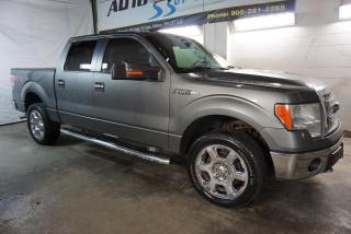 Used 2013 Ford F-150 V8 XLT 4x4 SUPER CREW XTR PREMUIM CERTIFIED *FREE ACCIDENT* CAMERA BLUETOOTH CRUISE ALLOYS SIDE BOARDS for sale in Milton, ON