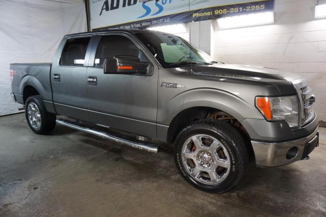 2013 Ford F-150 V8 XLT 4x4 SUPER CREW XTR PREMUIM CERTIFIED *FREE ACCIDENT* CAMERA BLUETOOTH CRUISE ALLOYS SIDE BOARDS