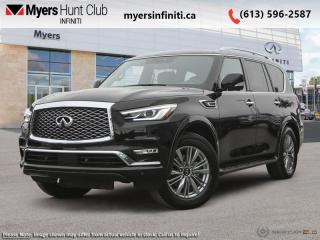 New 2022 Infiniti QX80 LUXE 7-Passenger for sale in Ottawa, ON