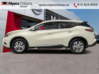 Used 2018 Nissan Murano AWD SL  - Sunroof -  Navigation - $226 B/W for sale in Orleans, ON