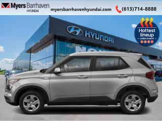 New 2022 Hyundai Venue Preferred  - $150 B/W for sale in Nepean, ON
