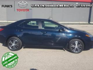 Used 2018 Toyota Corolla LE Upgrade Package  - Sunroof for sale in Steinbach, MB