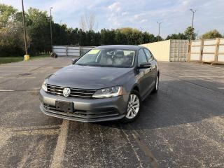 Used 2017 Volkswagen Jetta WOLFSBURG ED. 2WD for sale in Cayuga, ON