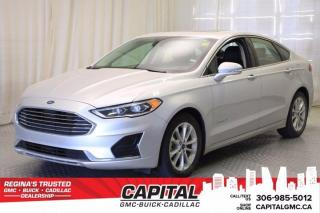 Used 2019 Ford Fusion Hybrid SEL*LEATHER*SUNROOF*NAV* for sale in Regina, SK