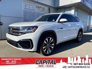 Used 2021 Volkswagen Atlas Execline   AWD * CLEAN CARFAX * ONE OWNER * for sale in Edmonton, AB