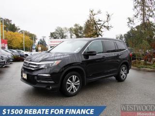 Used 2017 Honda Pilot EX-L NAVI for sale in Port Moody, BC