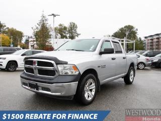 Used 2015 RAM 1500 ST for sale in Port Moody, BC