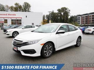 Used 2018 Honda Civic SEDAN SE for sale in Port Moody, BC