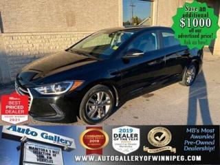 Used 2017 Hyundai Elantra GL* Bluetooth/Reverse Camera/Heated seats for sale in Winnipeg, MB