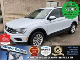 Used 2019 Volkswagen Tiguan Trendline* Remote Starter/Bluetooth/AWD for sale in Winnipeg, MB
