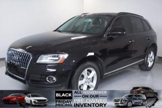 Used 2017 Audi Q5 2.0T Komfort|2.0 L|8-Speed Automatic|AWD for sale in Mississauga, ON
