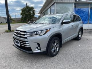 Used 2018 Toyota Highlander for sale in Goderich, ON