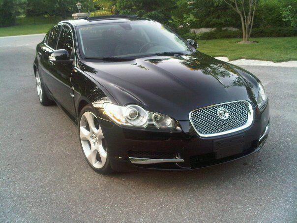 used 2009 jaguar xf supercharged for sale in york ontario. Black Bedroom Furniture Sets. Home Design Ideas