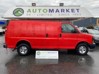 Used 2015 Chevrolet Express 2500 Cargo FLEX FUEL! INSPECTED! FREE BCAA & WRNTY! NO ACCIDENTS, LOCAL for sale in Langley, BC