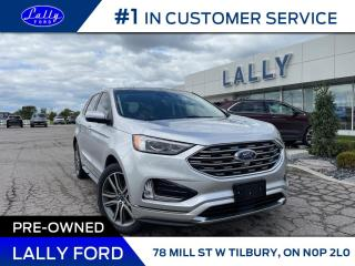Used 2019 Ford Edge Titanium,  One Owner, AWD, Loaded!! for sale in Tilbury, ON