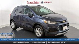 Used 2018 Chevrolet Trax LT FWD, Only 44,000 Kms., 1.4L Turbo, Remote Start, Rear Camera, Alloy Wheels, Nice!! for sale in Winnipeg, MB