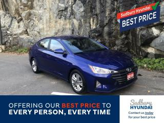 Used 2019 Hyundai Elantra Preferred One owner no accidents! for sale in Sudbury, ON