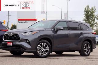 Used 2020 Toyota Highlander XLE, AWD, ANDROID AUTO, APPLE CARPLAY, HEATED SEATS, SUNROOF, ADAPTIVE CRUISE CONTROL, SNOW MODE for sale in Orangeville, ON