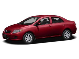 Used 2009 Toyota Corolla CE for sale in Hamilton, ON